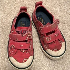 Polo size 6t shoes